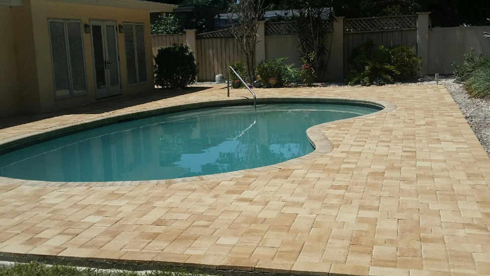 Pool decks seminole florida fl for Florida pool and deck