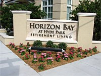 Horizontal Bay at Hyde Park - Retirement Community